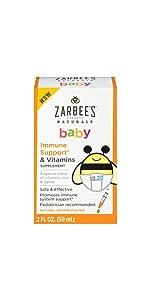 Amazon Com Zarbee S Naturals Baby Multivitamin With Iron