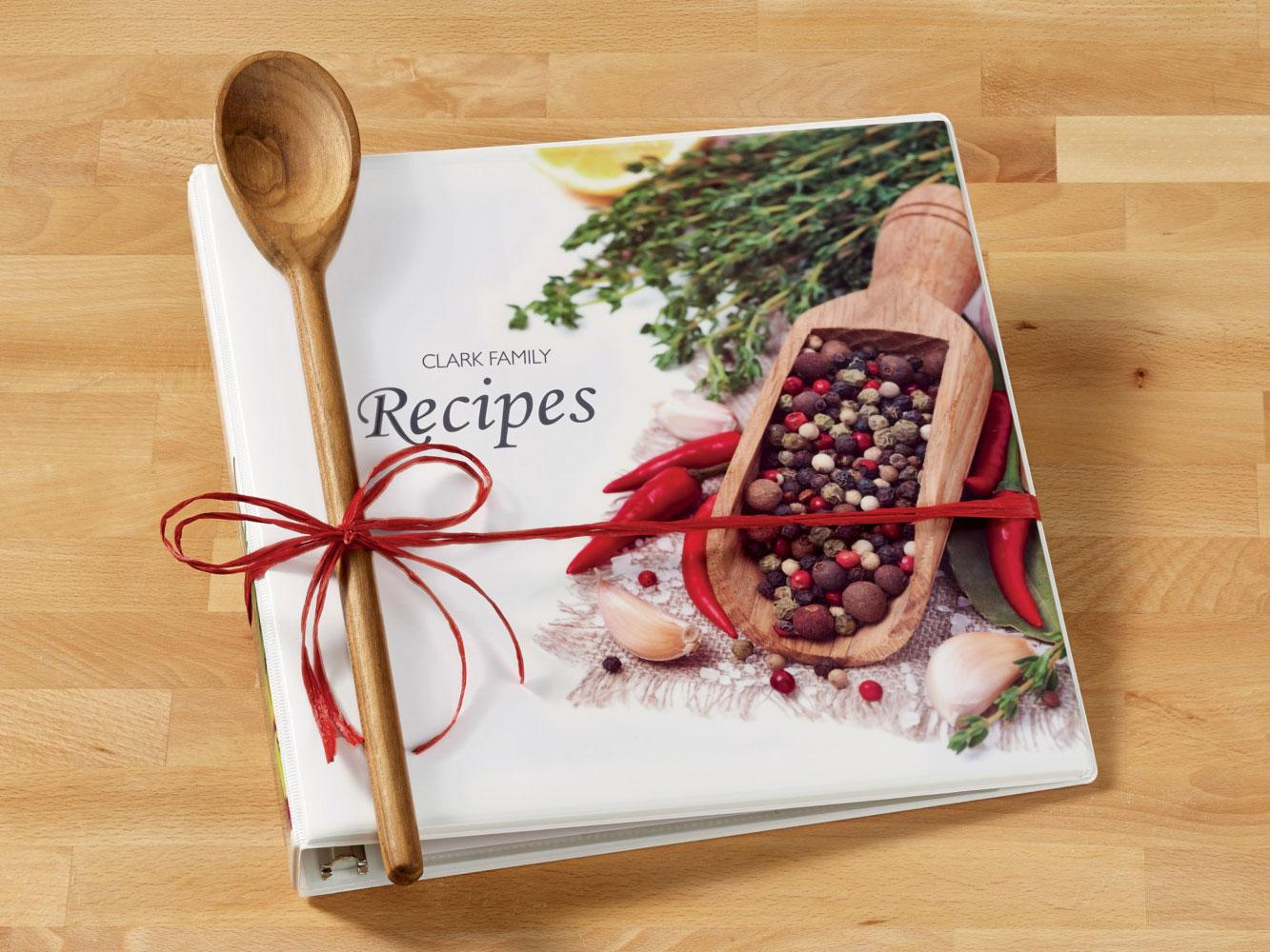 amazon com   avery my recipe binder starter kit  1 set of