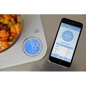 KitchenIQ Wireless Scale with App