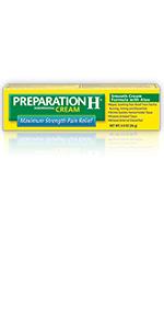 preparation h, hemorrhoid relief, hemorrhoid symptoms, hemorrhoid cream, pain, itching, burning