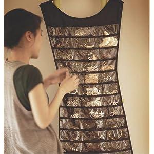 Amazoncom Umbra Little Black Dress Hanging Jewelry Organizer