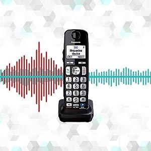 Panasonic KX-TGE232B - noise reduction