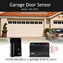 Household Alert Garage Door Monitor