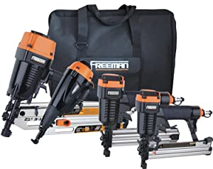 Freeman P4FRFNCB Framing and Finishing Combo Kit with Canvas Bag