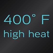 400 درجة حرارة عالية