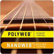 Acoustic guitar strings, acoustic strings, Elixir strings, Elixir Nanoweb, Elixir Polyweb