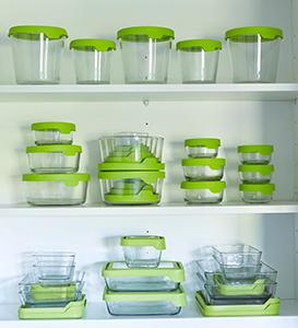 TrueSeal; Anchor Hocking; Glass; Glassware; Food Storage; Glass Storage;  Easy