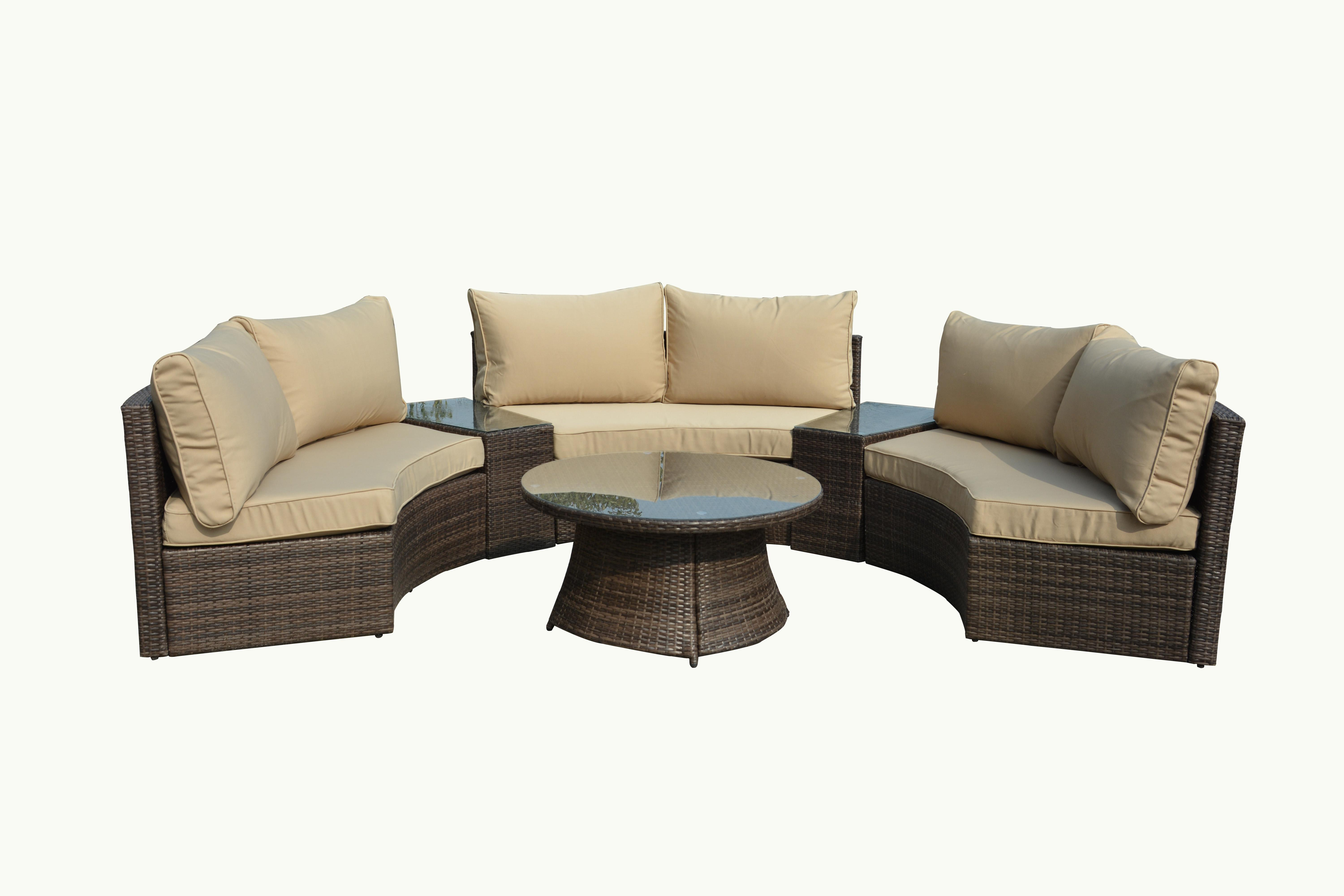Amazon Manhattan fort Pearl Semi Circle Outdoor Patio
