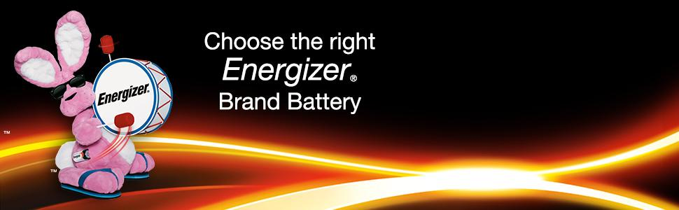 energizer bunny choose the right energizer battery