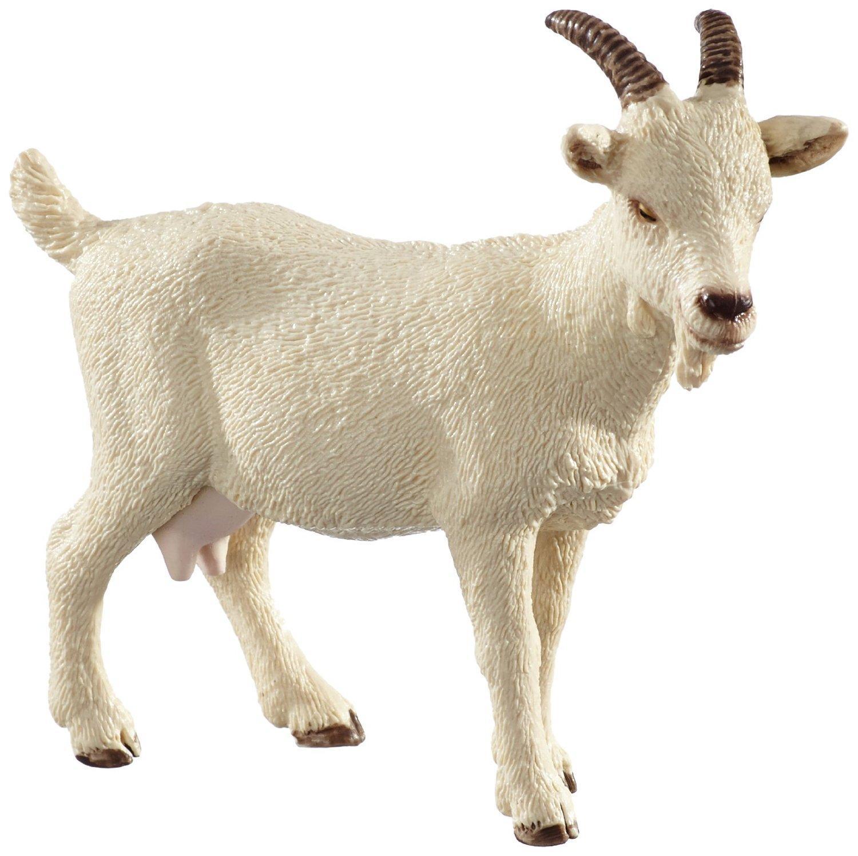 Amazon Com Schleich Domestic Goat Toy Figure Schleich Toys Games