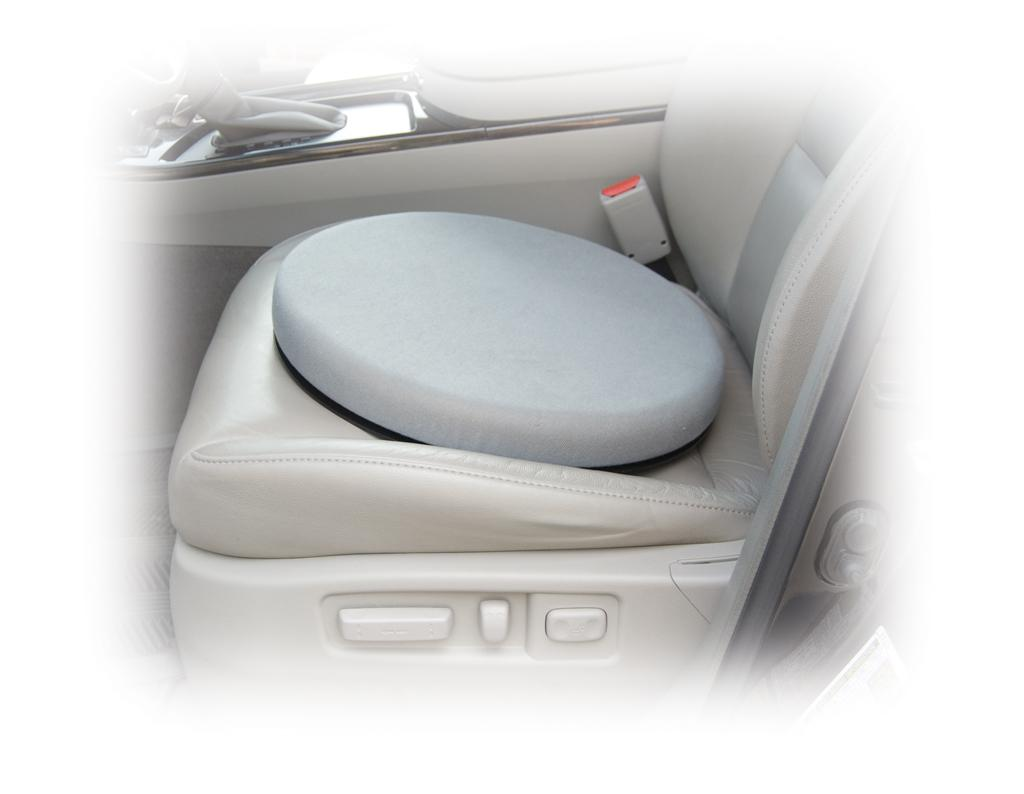 Swivel Car Seat >> Drive Medical Deluxe Swivel Seat Cushion Gray