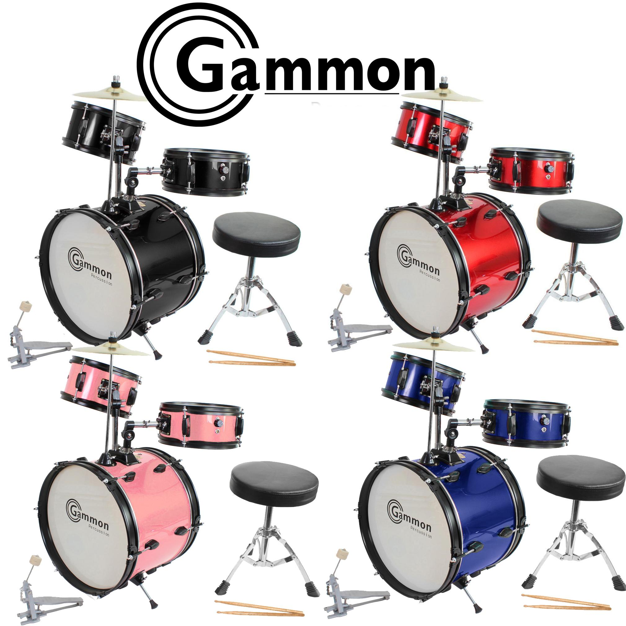Complete Junior Drum Set with Sticks and Stool  sc 1 st  Amazon.com & Amazon.com: Blue Drum Set Junior Kids Kit Complete with Cymbal ... islam-shia.org