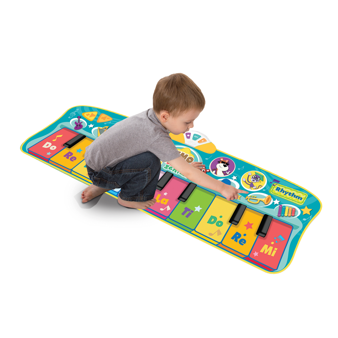Amazon Com Baby Genius Step To Step Dance Mat Toys Amp Games
