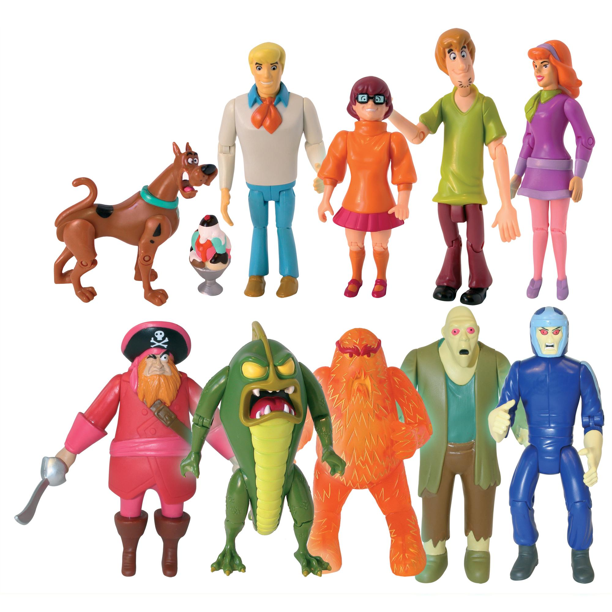 Amazon Com Scooby Doo Monster Set Action Figure 10 Pack
