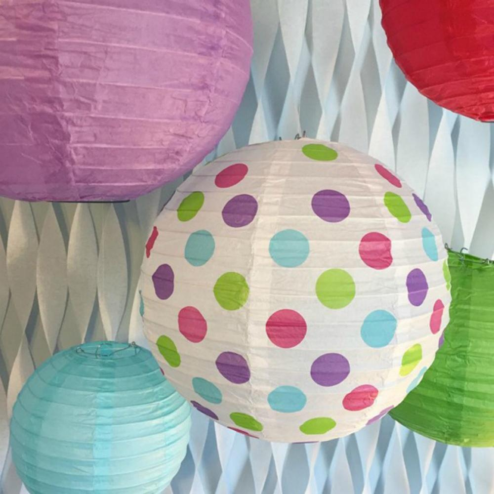 Bobee paper lanterns for birthday party baby for Baby shower decoration packs