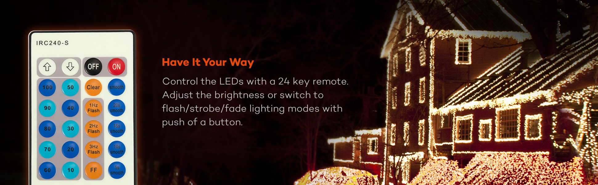 Amazon 33ft 100 Led String Lights Dimmable With Remote
