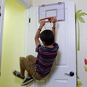 Tekk nate robinson monster jam mini hoop - Indoor basketball hoop for bedroom ...