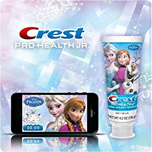 Amazon.com: Disney Frozen Crest Pro Salud pasta dental Plus ...