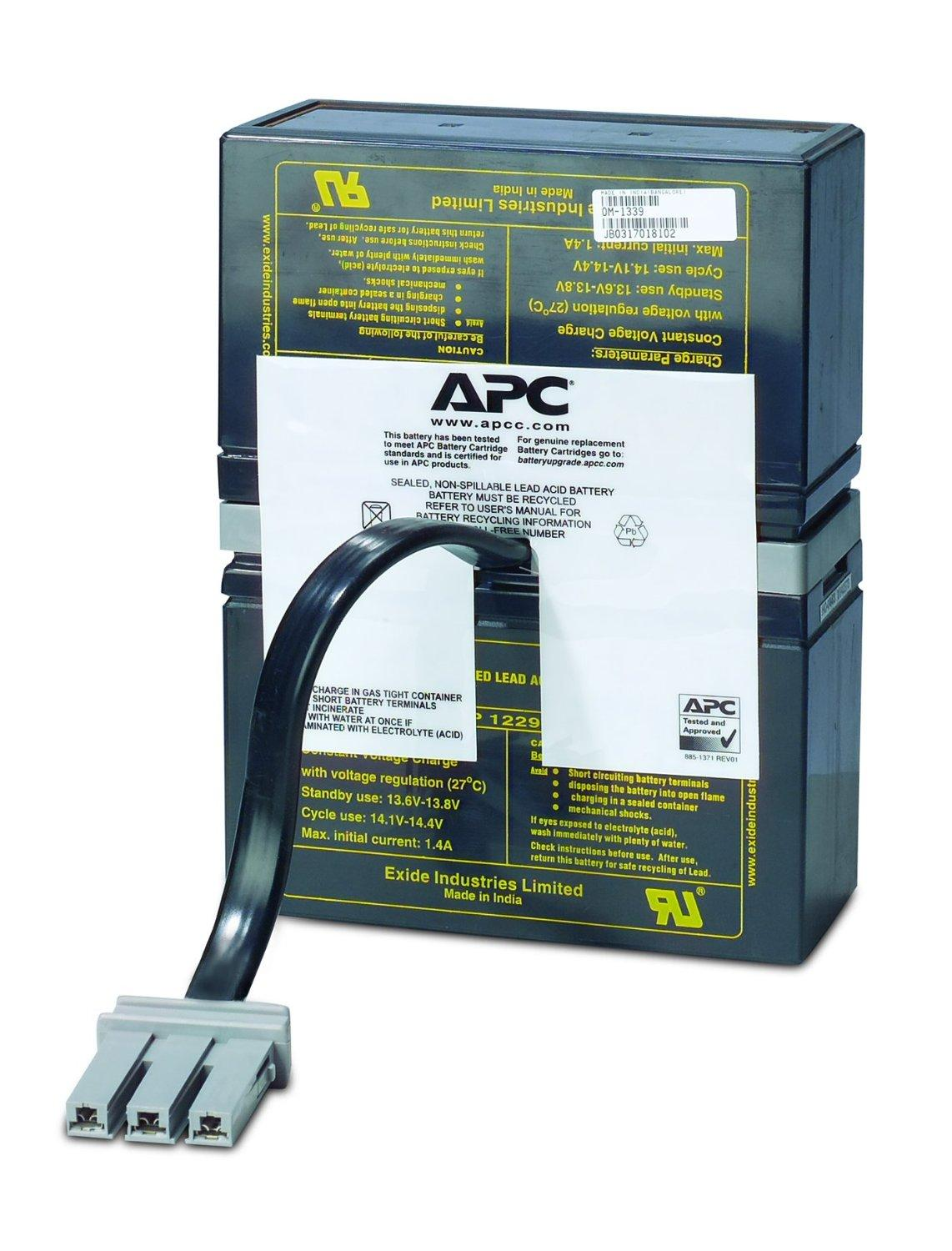 APC UPS Battery Replacement for APC Back-UPS Models BR1000, BX1000, BN1050,  BN1250, BR1200, BR500, BR800, BR900, BX1200, BX800, BX900 and select