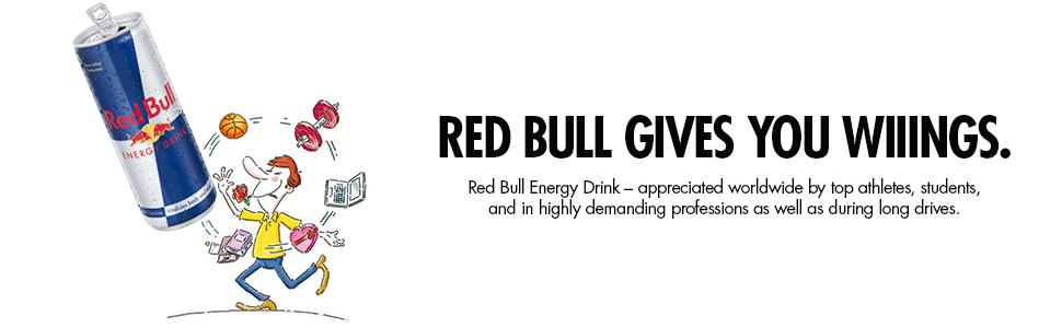 Amazon Com Red Bull Energy Drink 8 4 Fl Oz Cans 6
