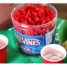 Licorice Red Vine Candy