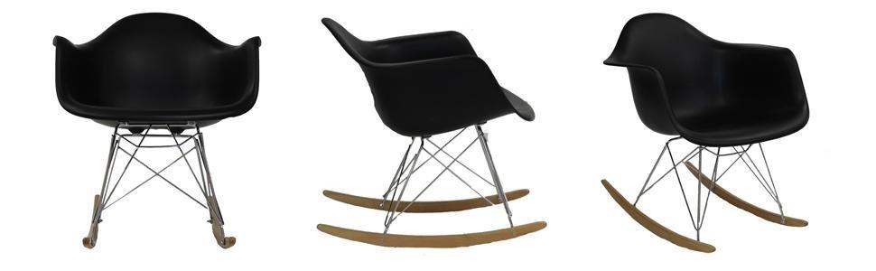 Plastic, Indoor, Outdoor, Rocker, Acrylic, Armchair, Chairs, Set, Modern, Contemporary, Children