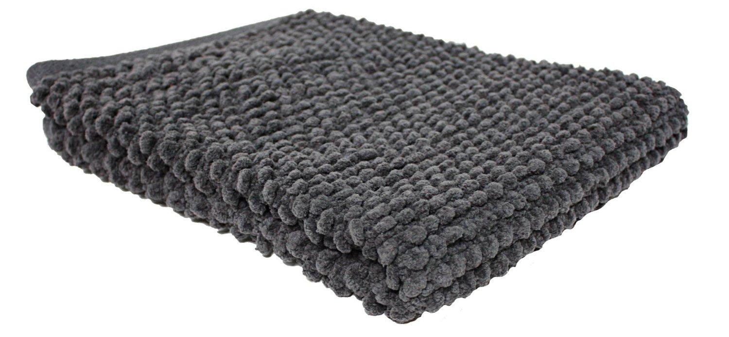 Amazon Com J Amp M Home Fashions Popcorn Bath Rug 22 Inch