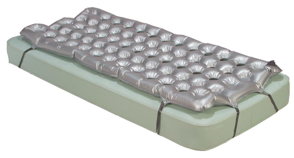 The Air Mattress Overlay Support Surface Allows For Efficient Flow Throughout