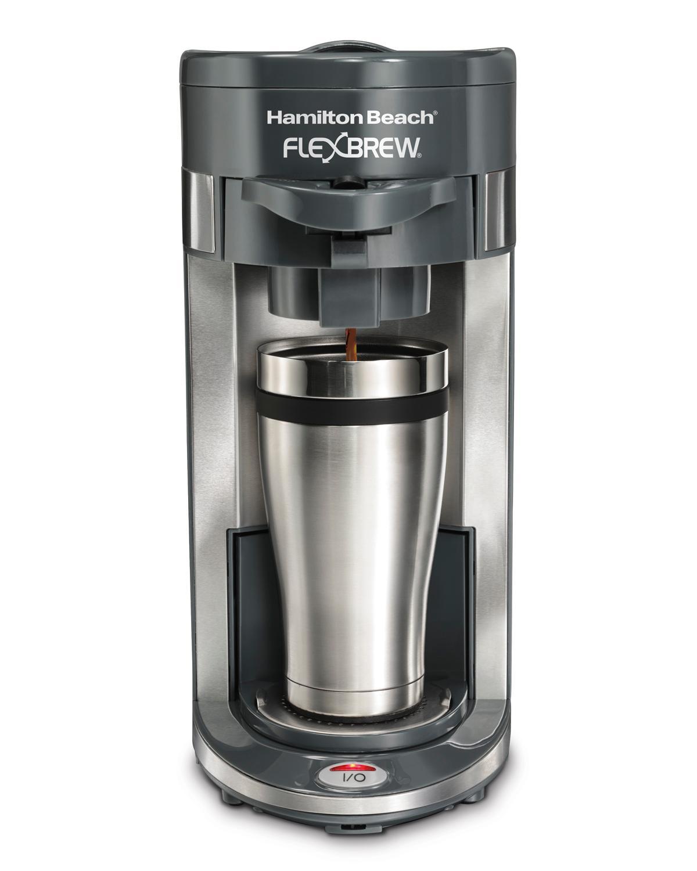 Amazon.com: Hamilton Beach Coffee Maker, Flex Brew Single