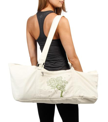 Amazon.com : Gaiam Yoga Mat Tote Bag, Tree Of Life