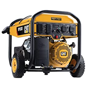 Cat RP6500E Portable Generator Electric Start 6500 Running Watts 8125 Starting Watts