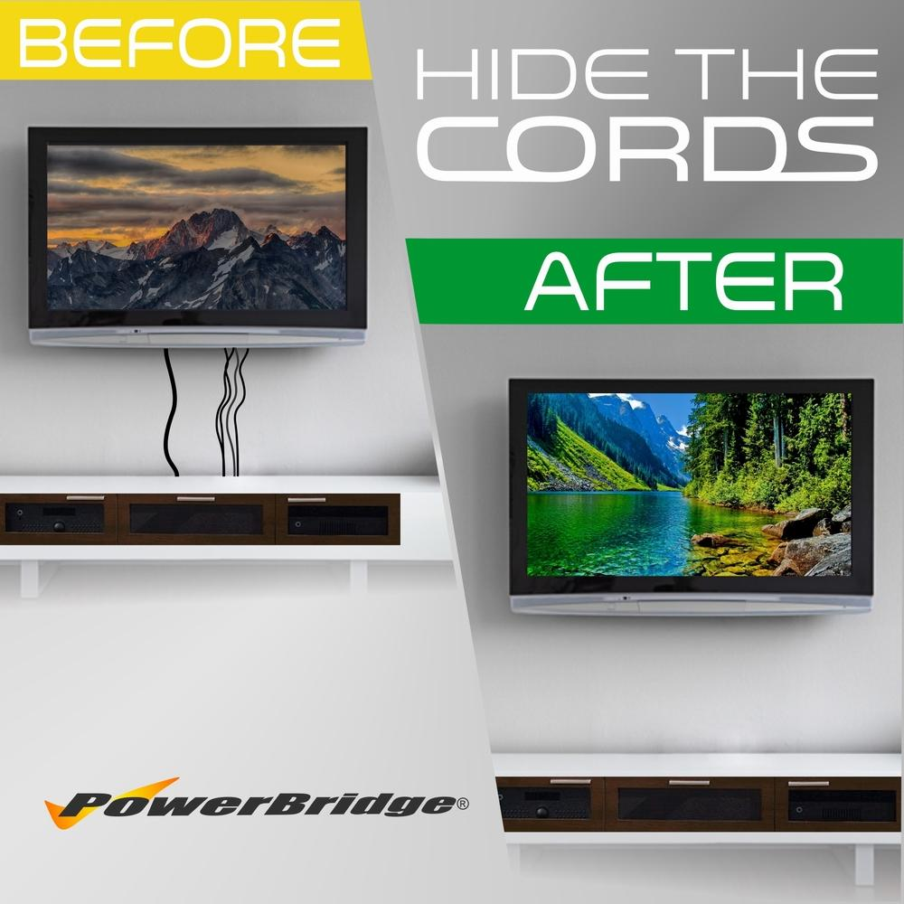 Hide Tv Wires In Wall Kit Amazon - WIRE Center •