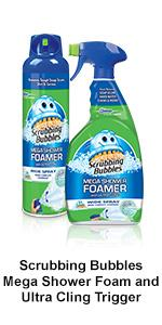 Wonderful ... Scrubbing Bubbles Mega Shower Foamer And Ultra Cling Trigger