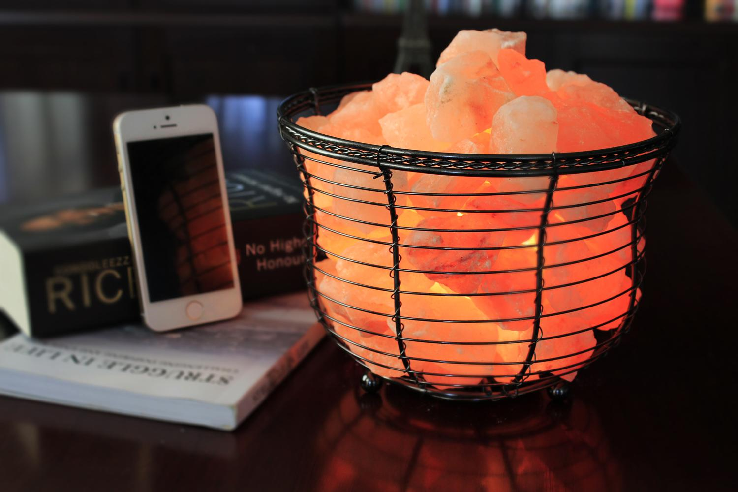 Do Salt Lamps Remove Negative Energy : WBM Natural Air Purifying Himalayan Salt Lamp with Salt Chunks, Bulb and eBay