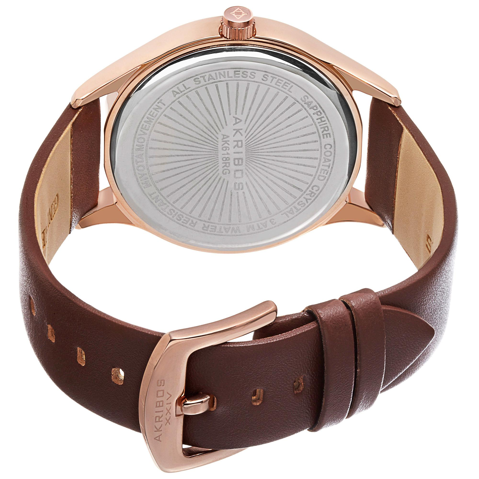 orion s steel watches swiss stainless front brown plated rosegold bbdf watch jbw gold men products multifunction rose ctw leather diamond