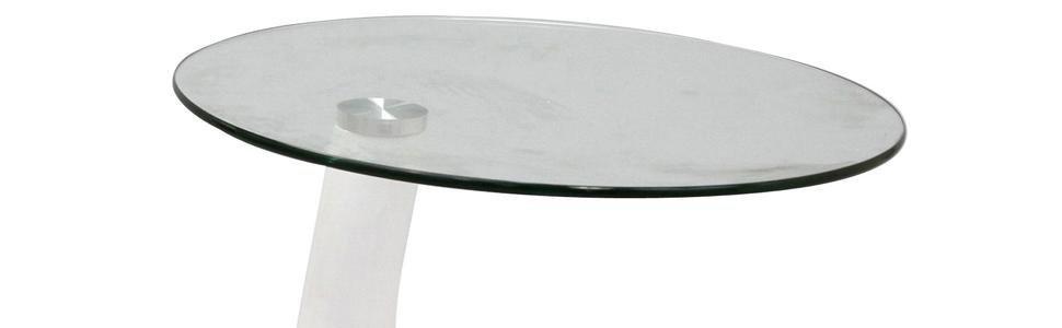 Amazon Com Modway Teardrop Side Table In White Kitchen