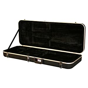 gator cases deluxe abs molded case for stratocaster and telecaster style guitars gc. Black Bedroom Furniture Sets. Home Design Ideas