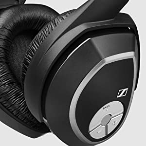 Amazon Com Sennheiser Rs 165 Rf Wireless Headphone System