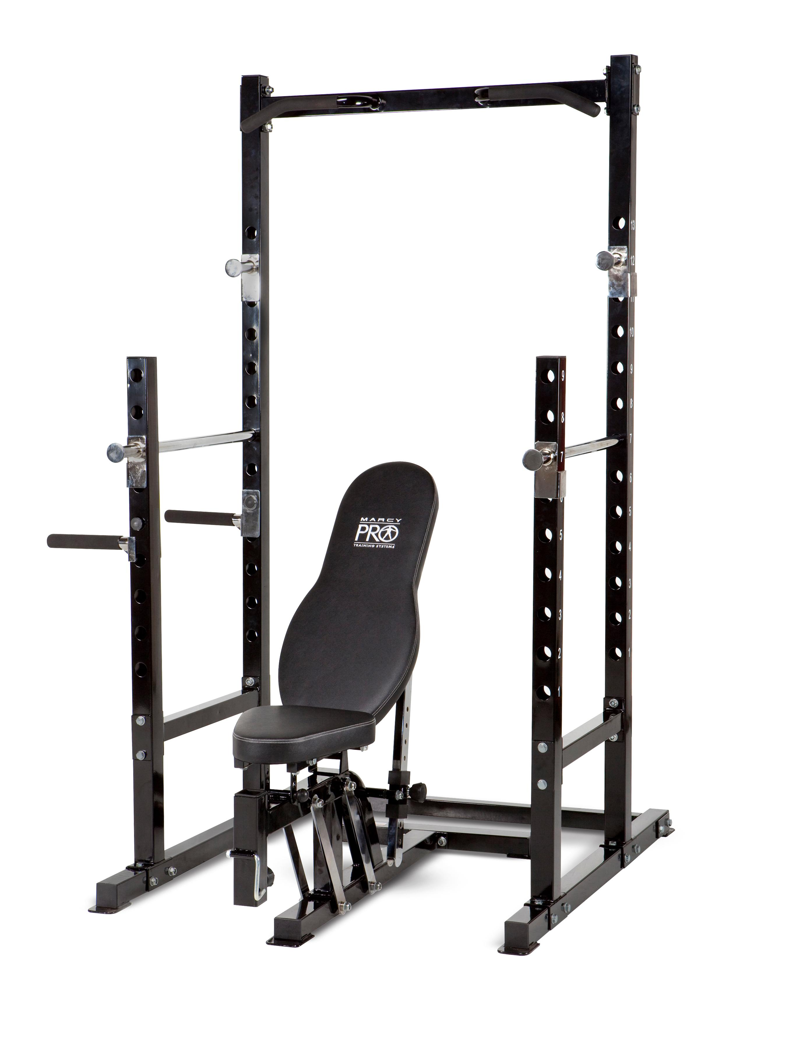 amazon com impex marcy platinum power rack and bench pm