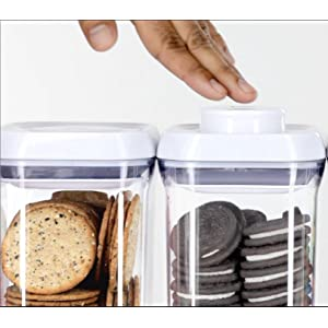 organization for small kitchen oxo grips 5 pop container set 3773