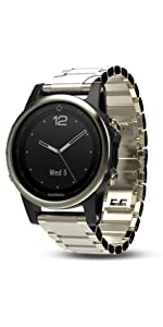 Amazon.com: Garmin Fenix 5S Sapphire - Black with Black Band: Cell