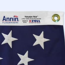 authentic Annin Flagmakers label