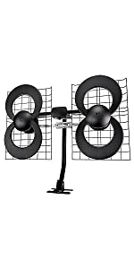 antennas; hdtv; tv; indoor; clearstream; dtv; best; outdoor; UHF; VHF; antennas direct;
