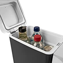 cooler travel fridge refer refrigerator ice box car truck camper food drinks warmer warming cooling