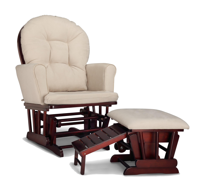 Amazon.com: Graco Parker Semi-Upholstered Glider and Nursing ...