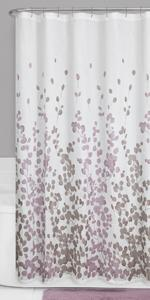 Amazoncom Maytex Sylvia Printed Faux Silk Fabric Shower Curtain