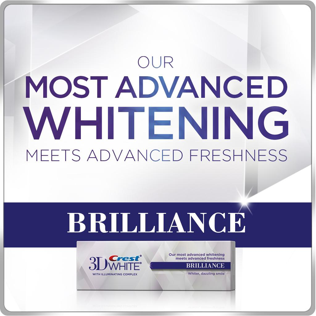 Amazon.com : Crest 3D White Brilliance Toothpaste, Vibrant