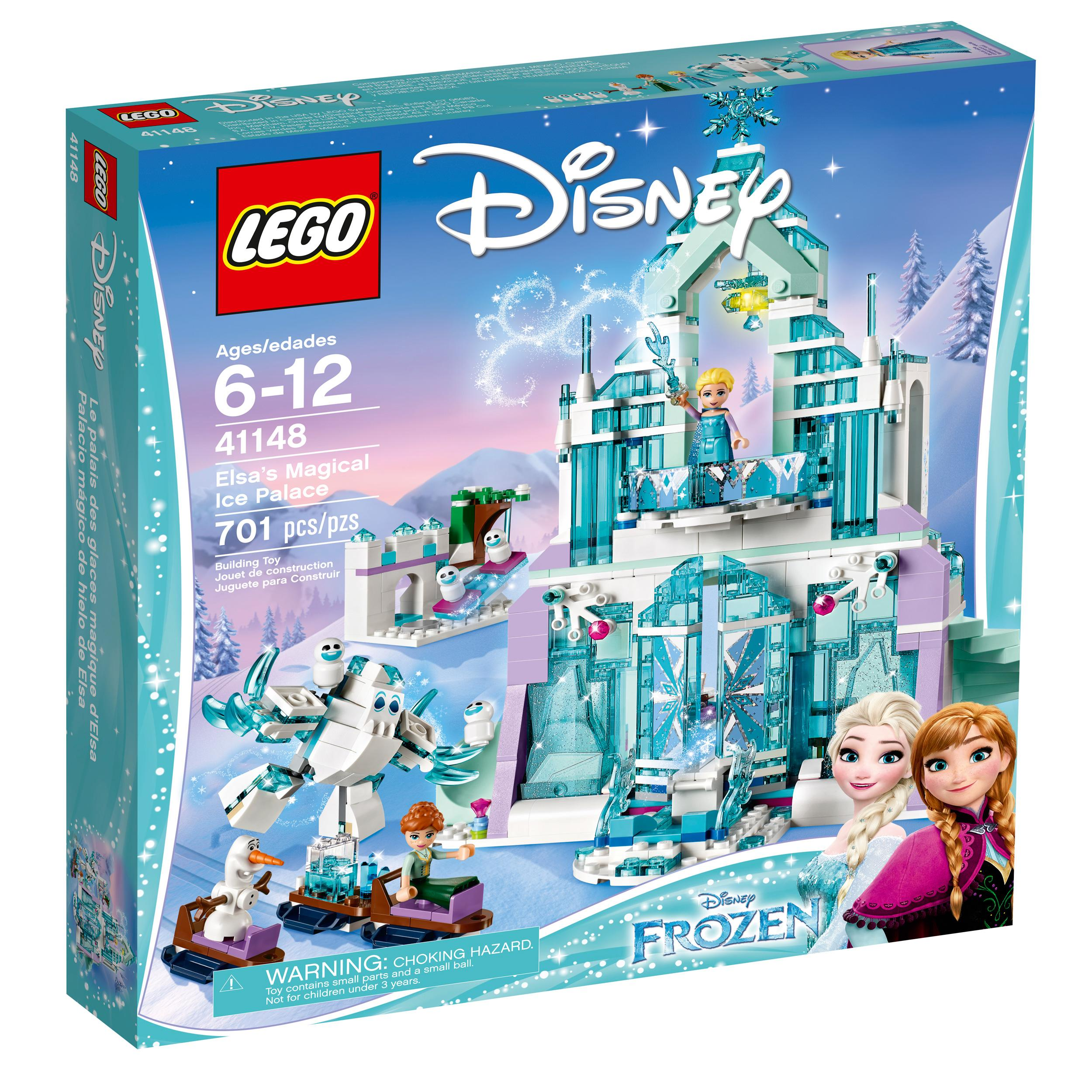 Amazon Com Lego L Disney Frozen Elsa S Magical Ice Palace