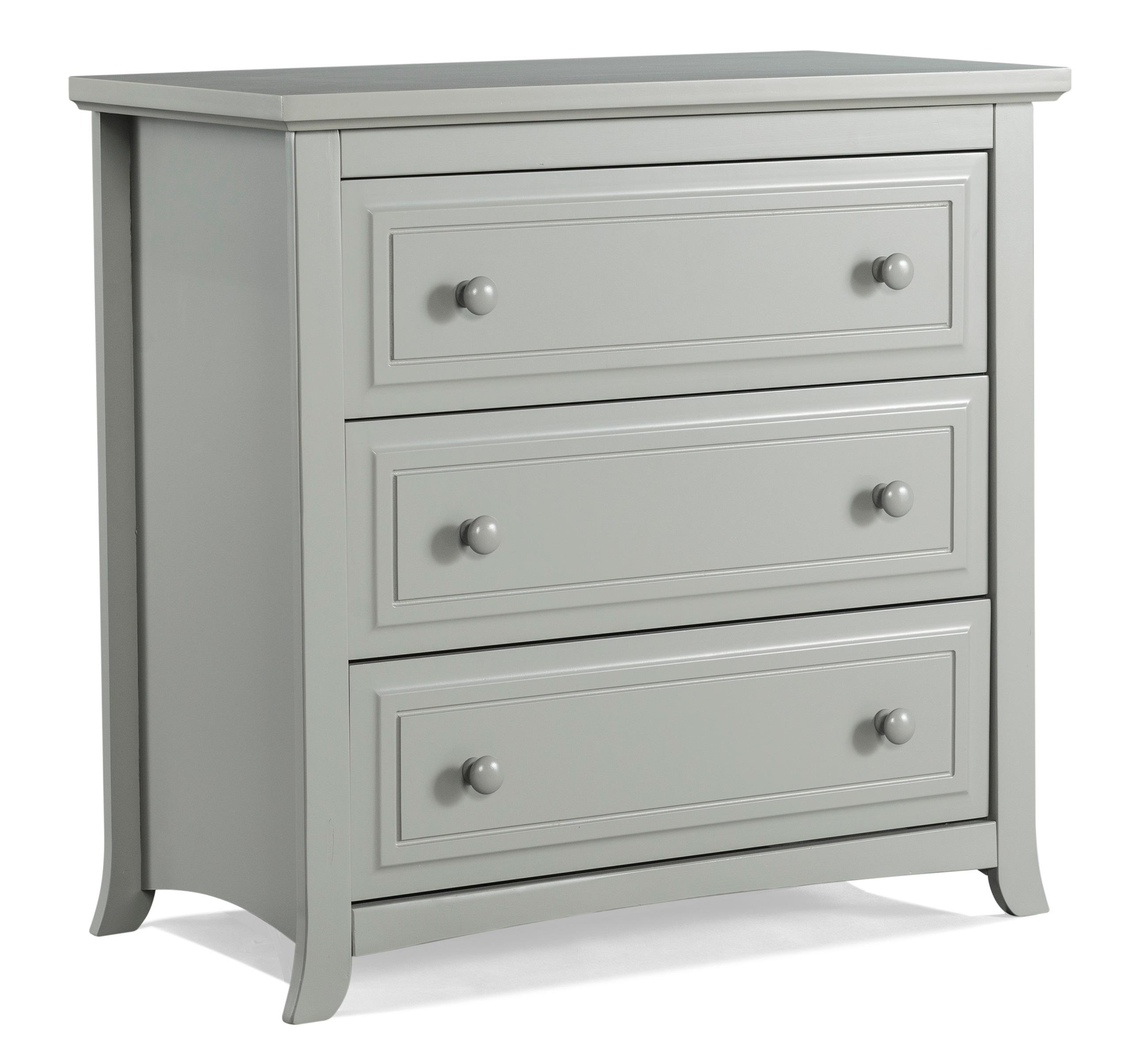 Amazon Com Graco Kendall 3 Drawer Chest Pebble Gray Baby