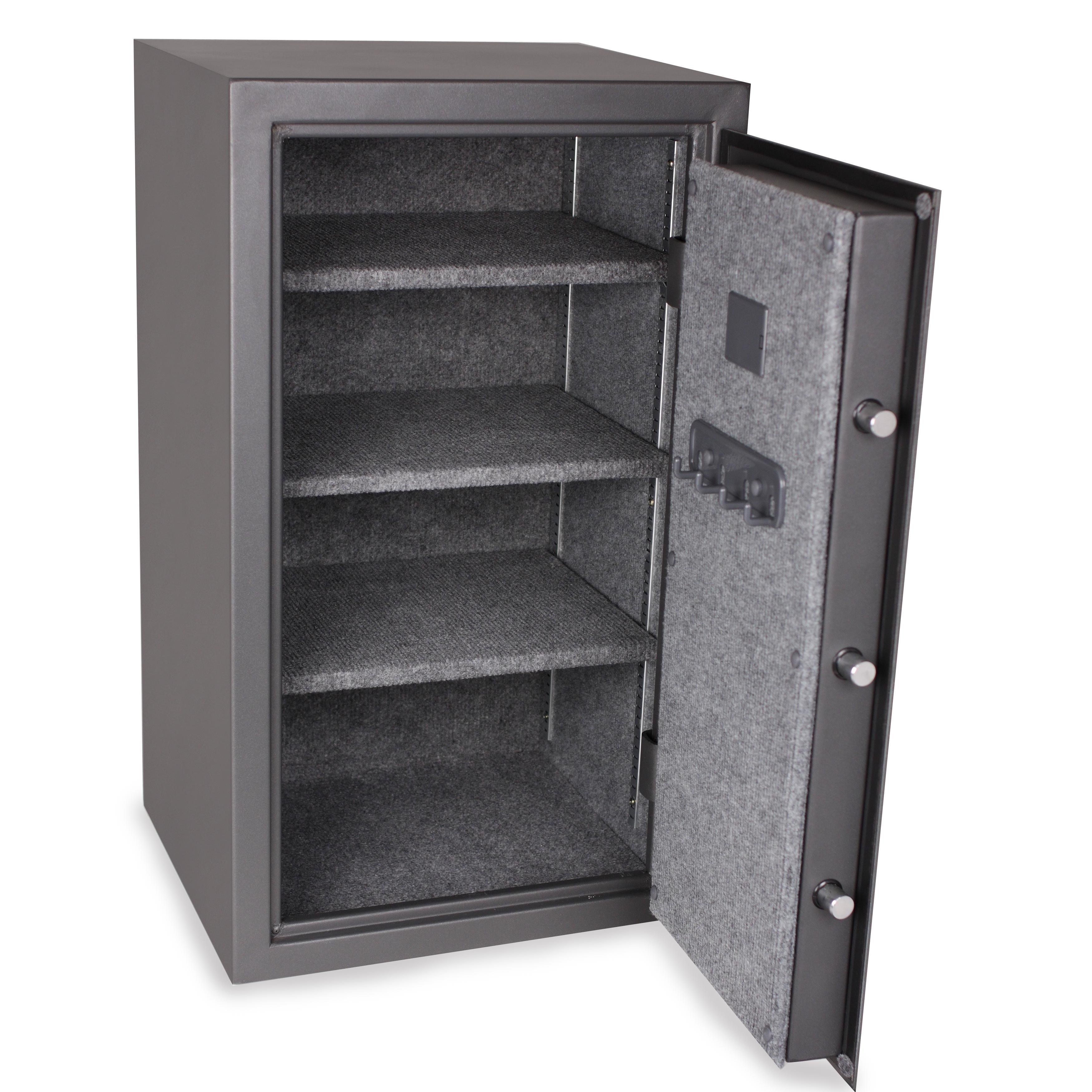 First alert 2583df executive safe with digital for 1 51 cu ft solid steel digital floor safe